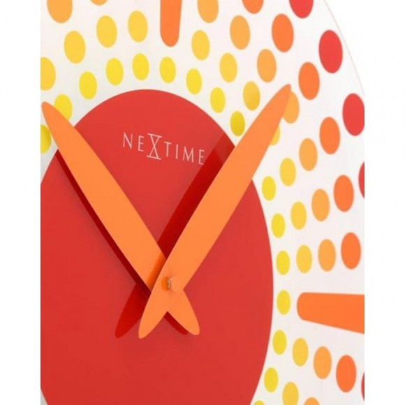 Dreams Time Red Wall Clock - Netherlands