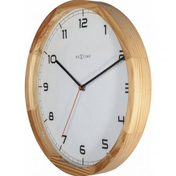 3154 - Company Light Wood - Wall Clock - Netherlands