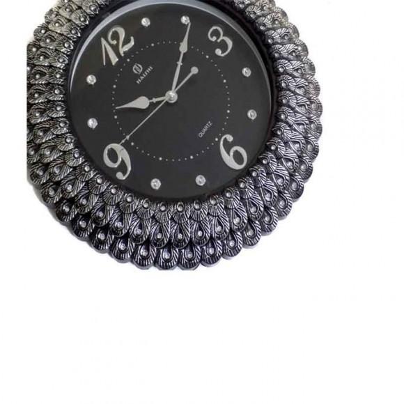 Wall Clock Fancy Black