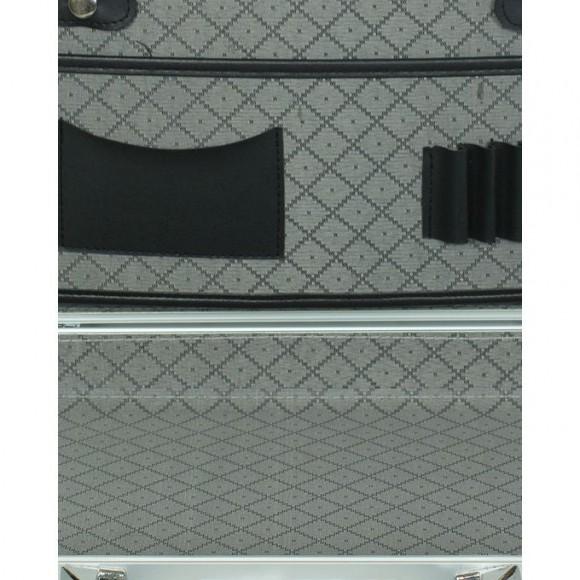 ABL Aluminium Briefcase with Combination Lock