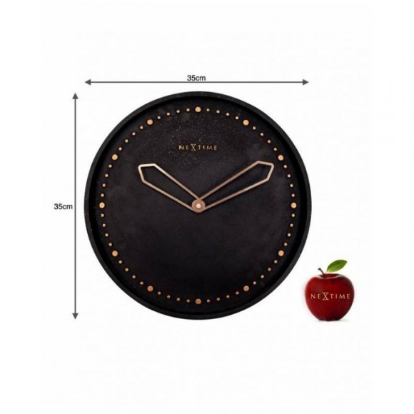 3197Zw - Cross - Wall Clock - Netherlands