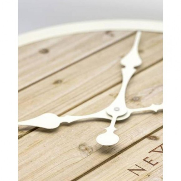 3133Wi - Plank Wall Clock - Netherlands