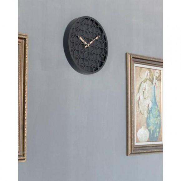 3215Zw - Discrete - Wall Clock - Netherlands