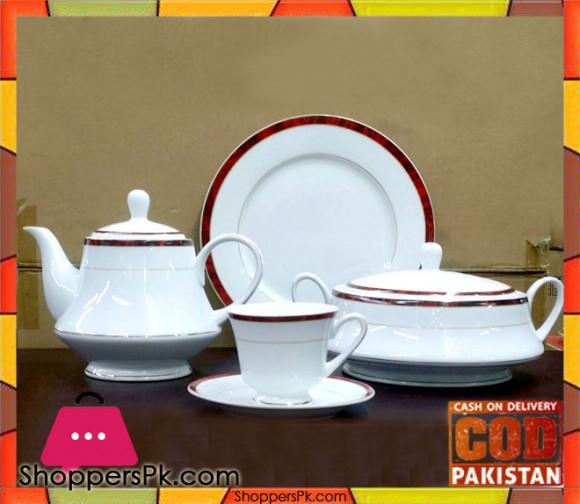 75 Pieces Dinner Set Fine Porcelain Bone China Q6