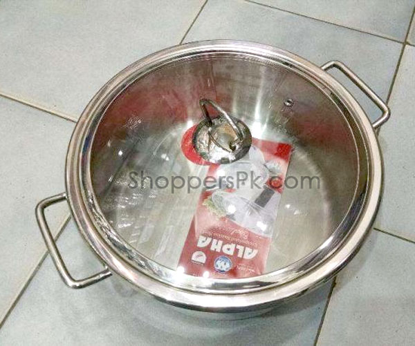 Alpha durable cuisine casserole stainless steel 8 pieces for 3 pieces cuisine