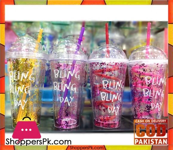 Bling Bling Day Straw Fun Jar One Piece