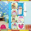 DIY 8 Cube Cute Kid Storage Cupboard Cabinet