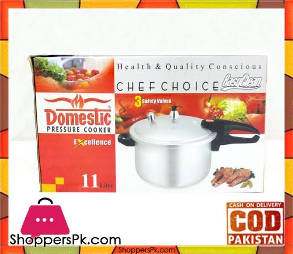 Domestic Excellence Pressure Cooker 11 Litre