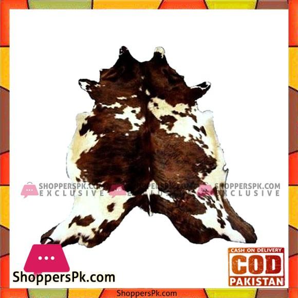 Exotic Cowhide Rug - Brown