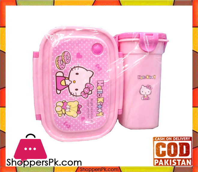46e30f646fea Buy Hello Kitty Lunch Box Set For Kid at Best Price in Pakistan