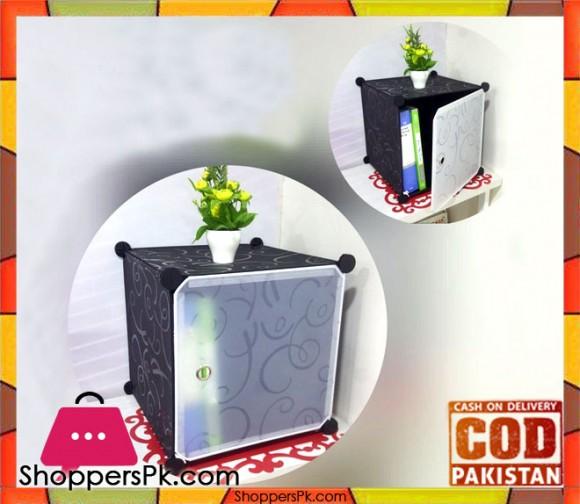 Intelligent Plastic Portable Cube Cabinet Multi Usage