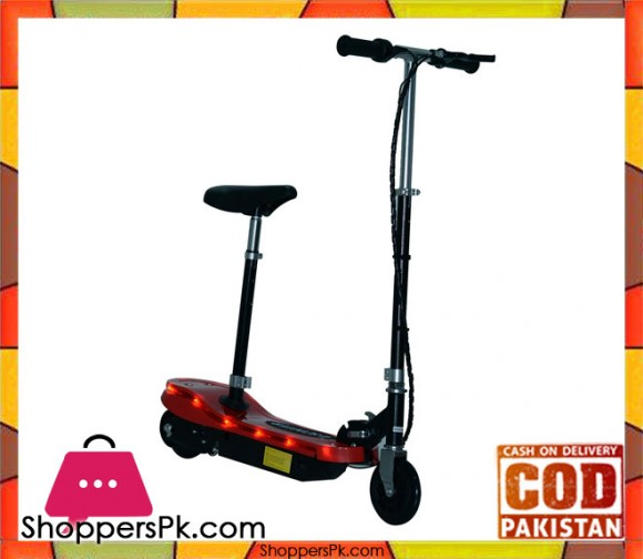 Kids E Scooter Ride on Folding Electric Bike 12V Rechargeable Battery with Light