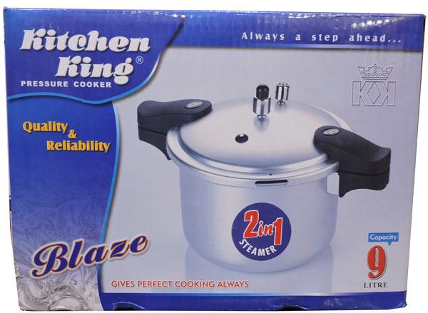 Kitchen King Blaze 9 Liter Pressure Cooker