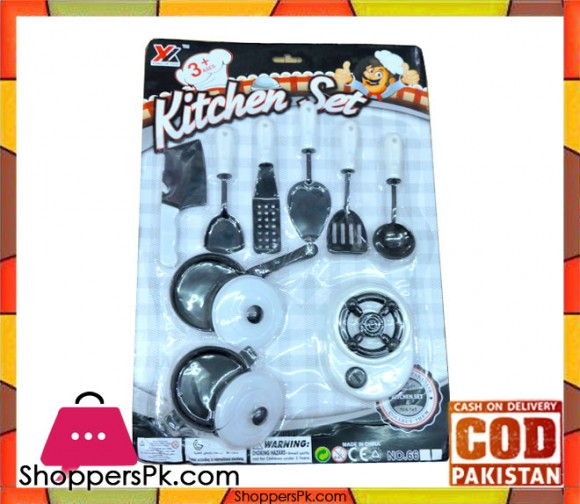 Kitchen Set For Kid 9 Pieces