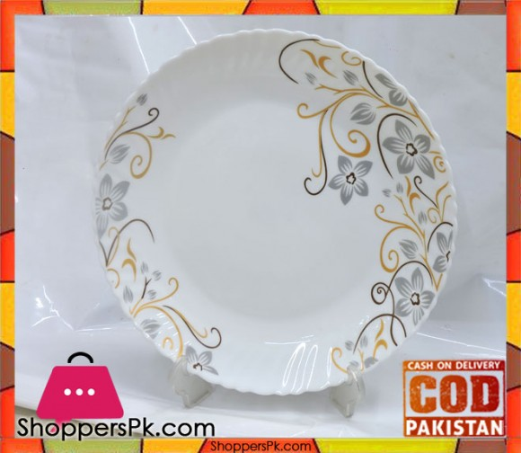 Marble Deep Plate 10.5 Inch Six Pieces DX1