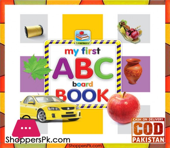 My First ABC Board Book 6.5 Inch