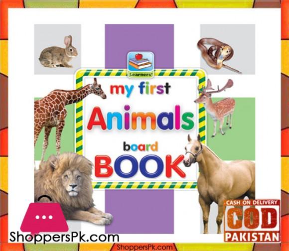 My First ANIMALS Board Book 6.5 Inch
