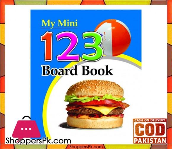 My Mini Board Book 123