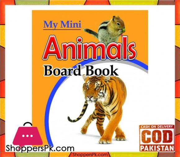 My Mini Board Book Animals