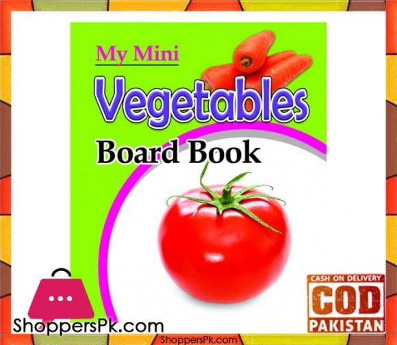 My Mini Board Book Vegetables