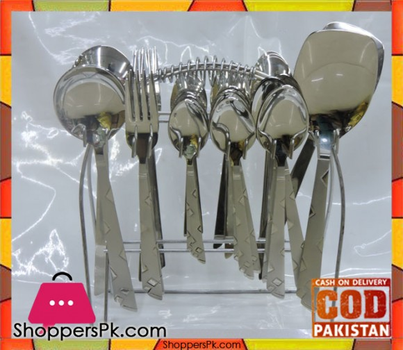 High Quality Stainless Steel Cutlery Set 29 Pieces CB2