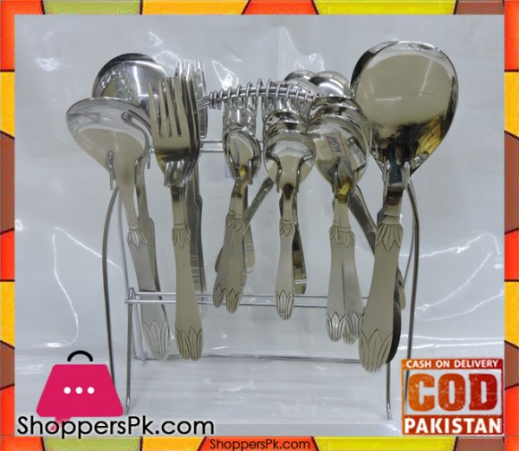 High Quality Stainless Steel Cutlery Set 29 Pieces CB4