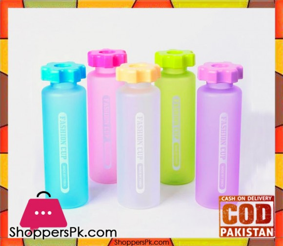 Plastic Water Bottle Anti Swat 380 ML Capacity One Piece