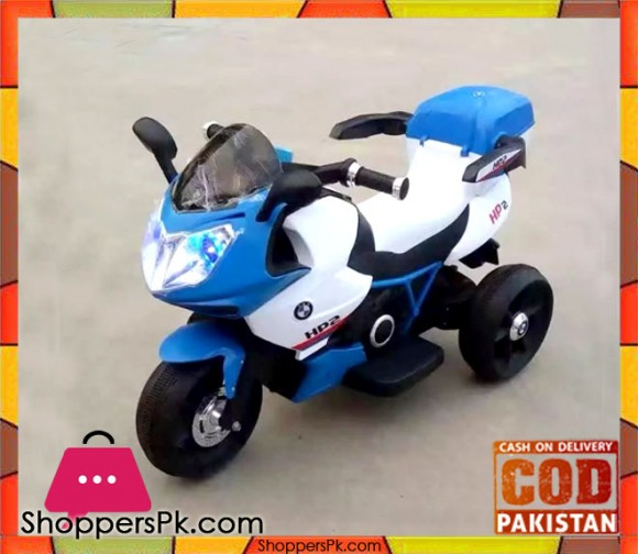 Ride on Battery Operated HP2 BMW Bike For Kid 6187
