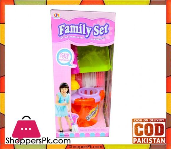 Scene Toy Mop Bucket Set For Kid