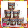 Tea Cup 6 Pieces Set SL3