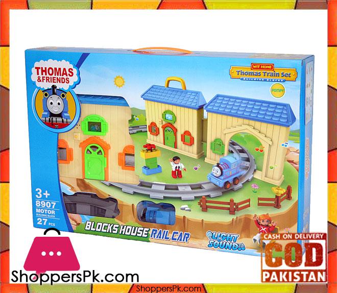 Surprising Thomas Train Block House Rail Set For Kid Download Free Architecture Designs Scobabritishbridgeorg