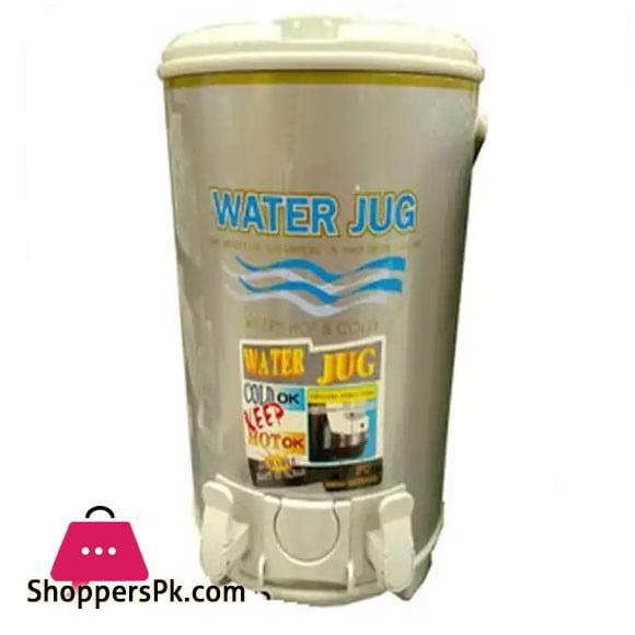 Water Cooler 16 Litre Grey & Golden Color Aluminium Inner Imported Cooler