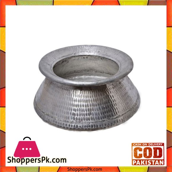 Professional Silver Sindhi Degh - 5 Kg