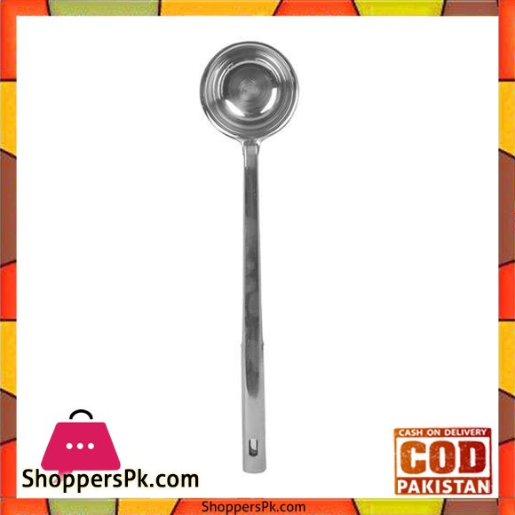 Stainless Steel Ladle - Silver