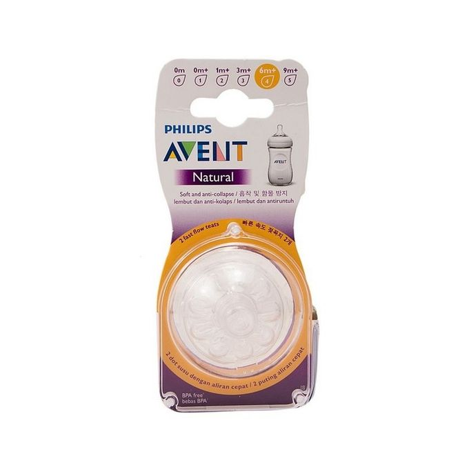 Avent Natural Fast Flow - 6M+ - Shoppers Pakistan