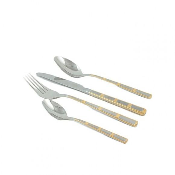 Elegant 24 Pieces Cutlery Set Germany - Silver - EL48