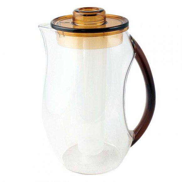 Acrylic Water Set - 7 Pieces - Brown - BH0060AC