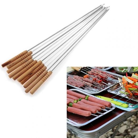 CM BBQ Square Skewers For Kebab -12pcs