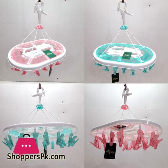 Baby Cloth Hanger with 24 Hangers