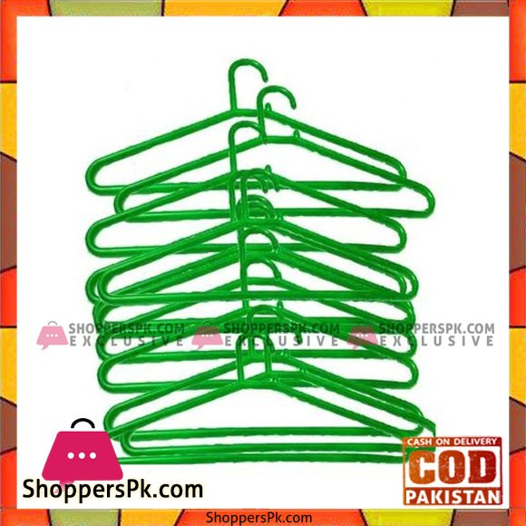 Bindas Collection Pack of 12 - Hangers - Green