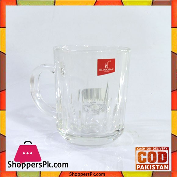 Blinkmax Glass Tea And Kawa Mug Six Pieces Set V2