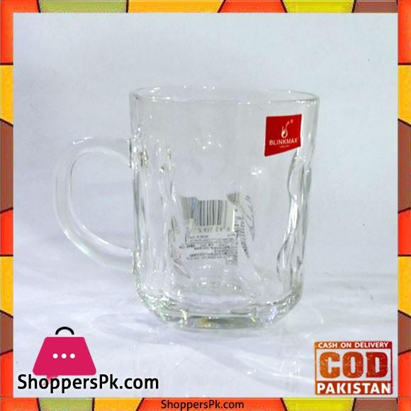 Blinkmax Glass Tea And Kawa Mug Six Pieces Set V3