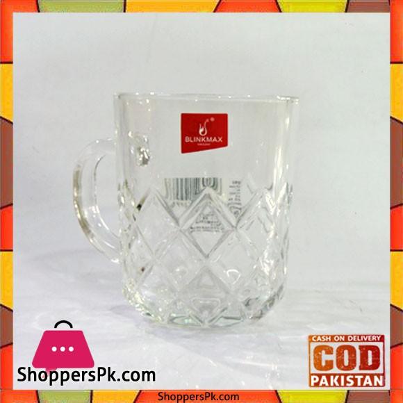Blinkmax Glass Tea And Kawa Mug Six Pieces Set V1