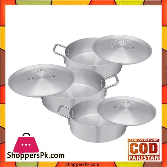 Bravo Fish Fryer Set – 304 | 3 Pcs Set