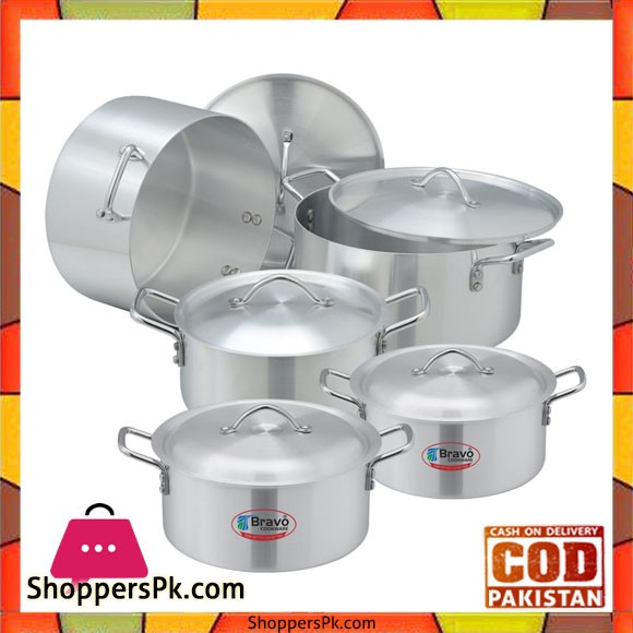 Bravo Premier Regular Set – 404 | 5 Pots Set