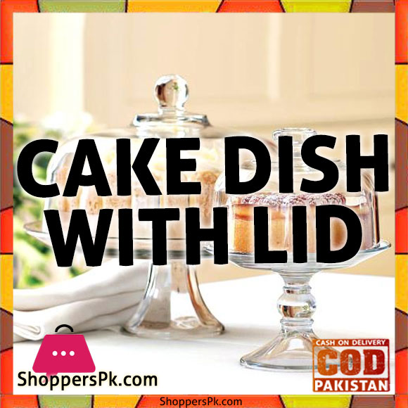 Plastic Cake Plate With Dome Online in Pakistan