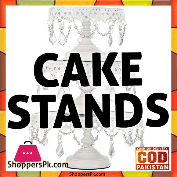 Plastic Cake Stand With Lid in Islamabad
