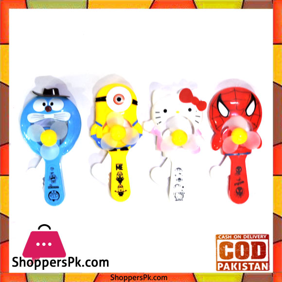 Buy Cartoon Personal Toy Fan At Best Price In Pakistan