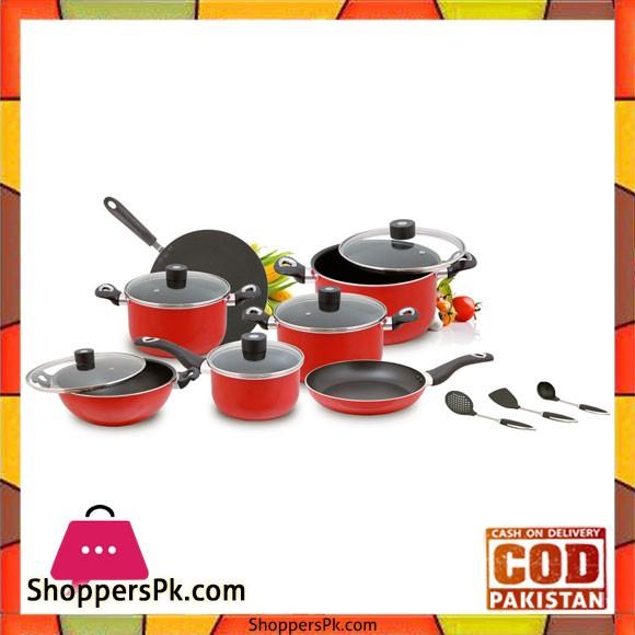 Casio Italia Cookware – 15 Pcs Gift Pack