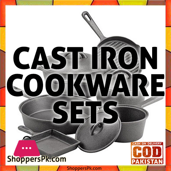 Cast Iron Cookware Sets Price in Pakistan